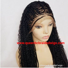 Load image into Gallery viewer, goddess Cornrow Wig