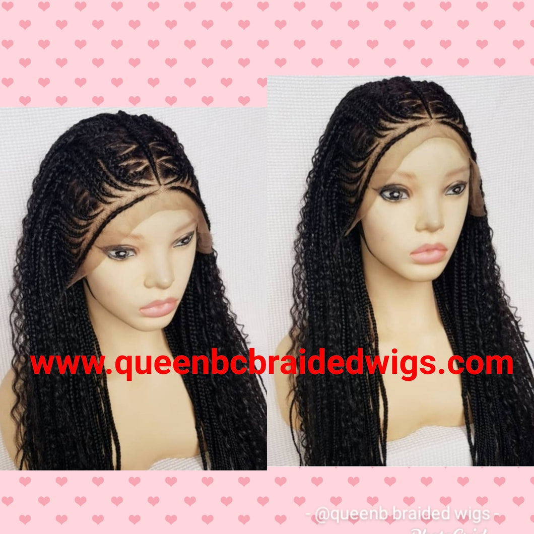 goddess Cornrow Wig