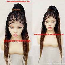 Load image into Gallery viewer, French Braids Cornrow Wig