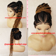 Load image into Gallery viewer, Sassy Braids Cornrow Wig