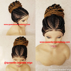 Sassy Braids Cornrow Wig