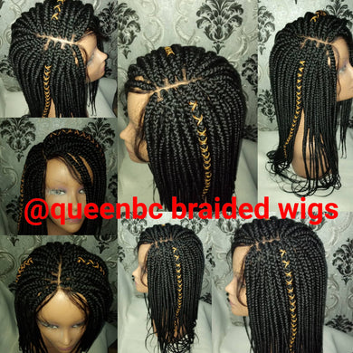 Senegalese box braids no 3 Wig