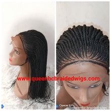 Load image into Gallery viewer, All back cornrow wig