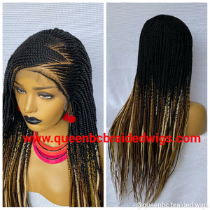 Zizag Cornrow Wig