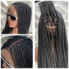 Load image into Gallery viewer, Full lace boxbraids Wig
