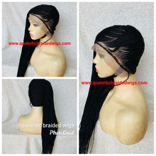 Load image into Gallery viewer, Lemonade braids style 6 Cornrow Wig