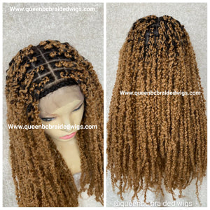 Ready to ship full lace passion twists Wig