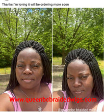 Load image into Gallery viewer, Boxbraids lace frontal style 1wigs