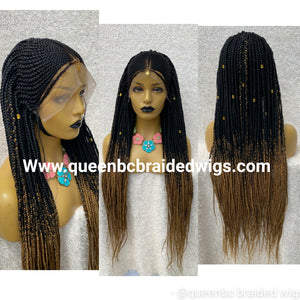Tribal Fulani braids Wig