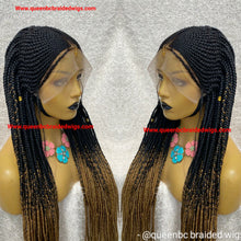 Load image into Gallery viewer, Tribal Fulani braids Wig