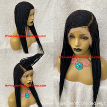 Load image into Gallery viewer, 13x6 lace frontal Cornrow Wig