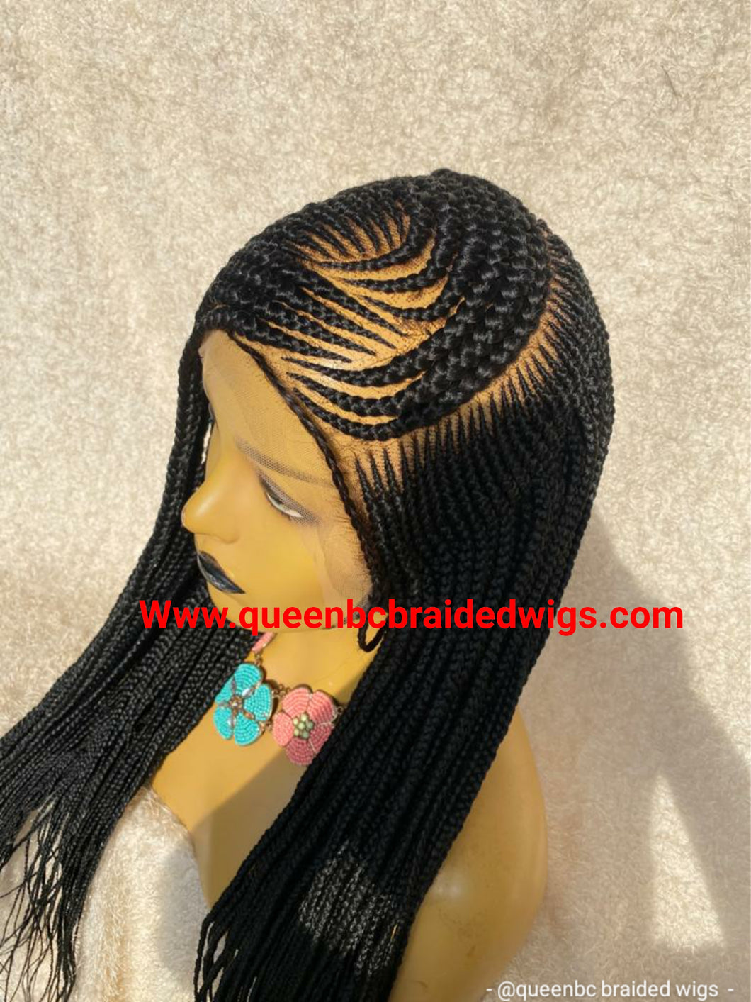 Cornrow braids Wig