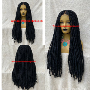 Ready to ship Spring twist wig