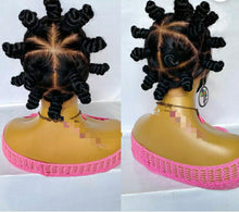 Load image into Gallery viewer, Full lace Bantu knots wig