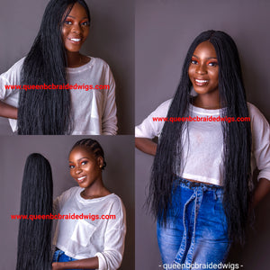 Senegalese Braided Twist  wig