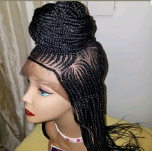 Load image into Gallery viewer, N Middle shuku Cornrow Wig