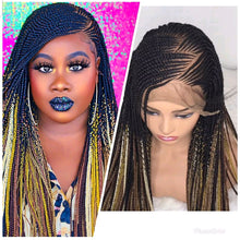 Load image into Gallery viewer, Zizag Cornrow Wig
