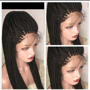 Boxbraids lace frontal style 1wigs