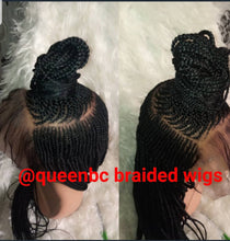 Load image into Gallery viewer, Middle shuku Cornrow Wig