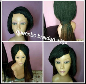 Two tone senegalese twist braids wig