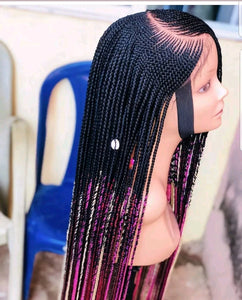 Cpart Cornrow Wig