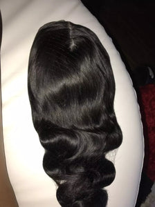 Ready to ship Brazilian body wave  human hair wig