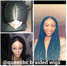 Load image into Gallery viewer, Ready to ship tribal braids cornrow wig