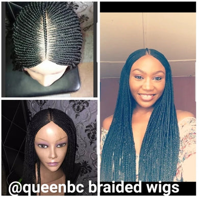 Ready to ship tribal braids cornrow wig
