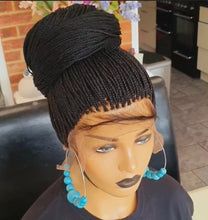 Load image into Gallery viewer, Full lace micro boxbraids wig