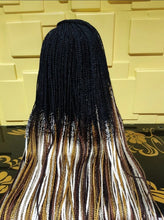 Load image into Gallery viewer, lace frontal boxbraids Wig