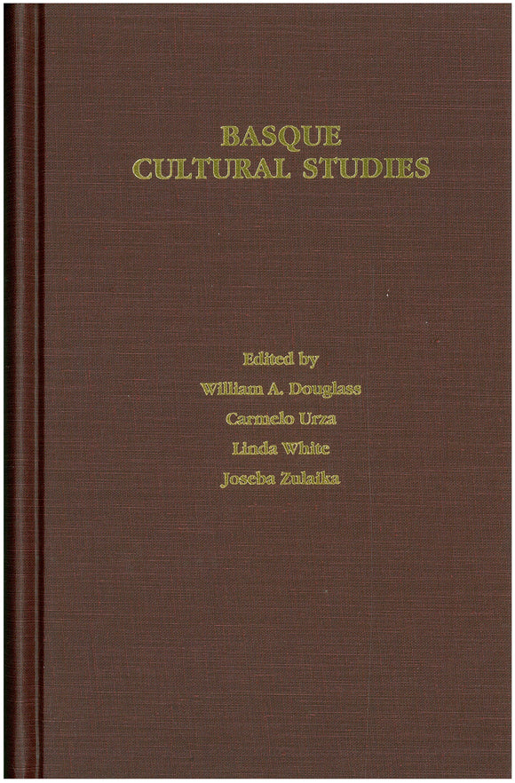 Basque Cultural Studies (Hardcover)