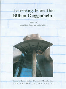 Learning from the Bilbao Guggenheim (Paperback)