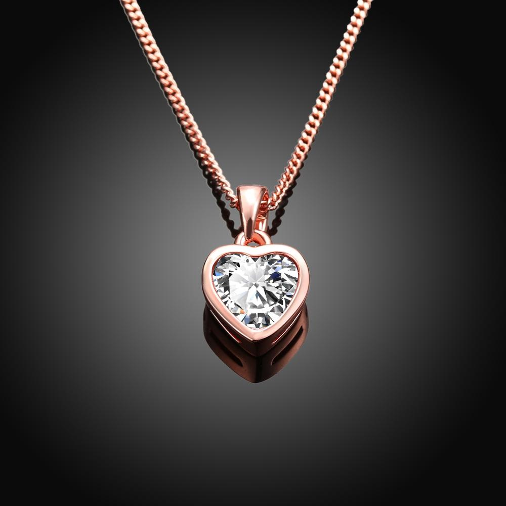 Classic Heart Shaped Swarovski Elements Necklace
