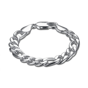 Silver Thick Cut Curb Chain