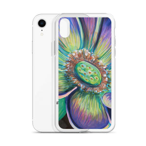 Green Botanical Flower iPhone Cover 6 Plus, 6s Plus,7, 7Plus,8, 8 Plus, X,XR, XS, XS Max