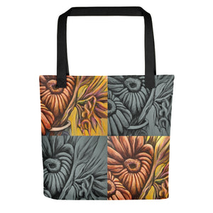 Floral Design Tote bag by Antonio Rael - Colour Connect Beauty