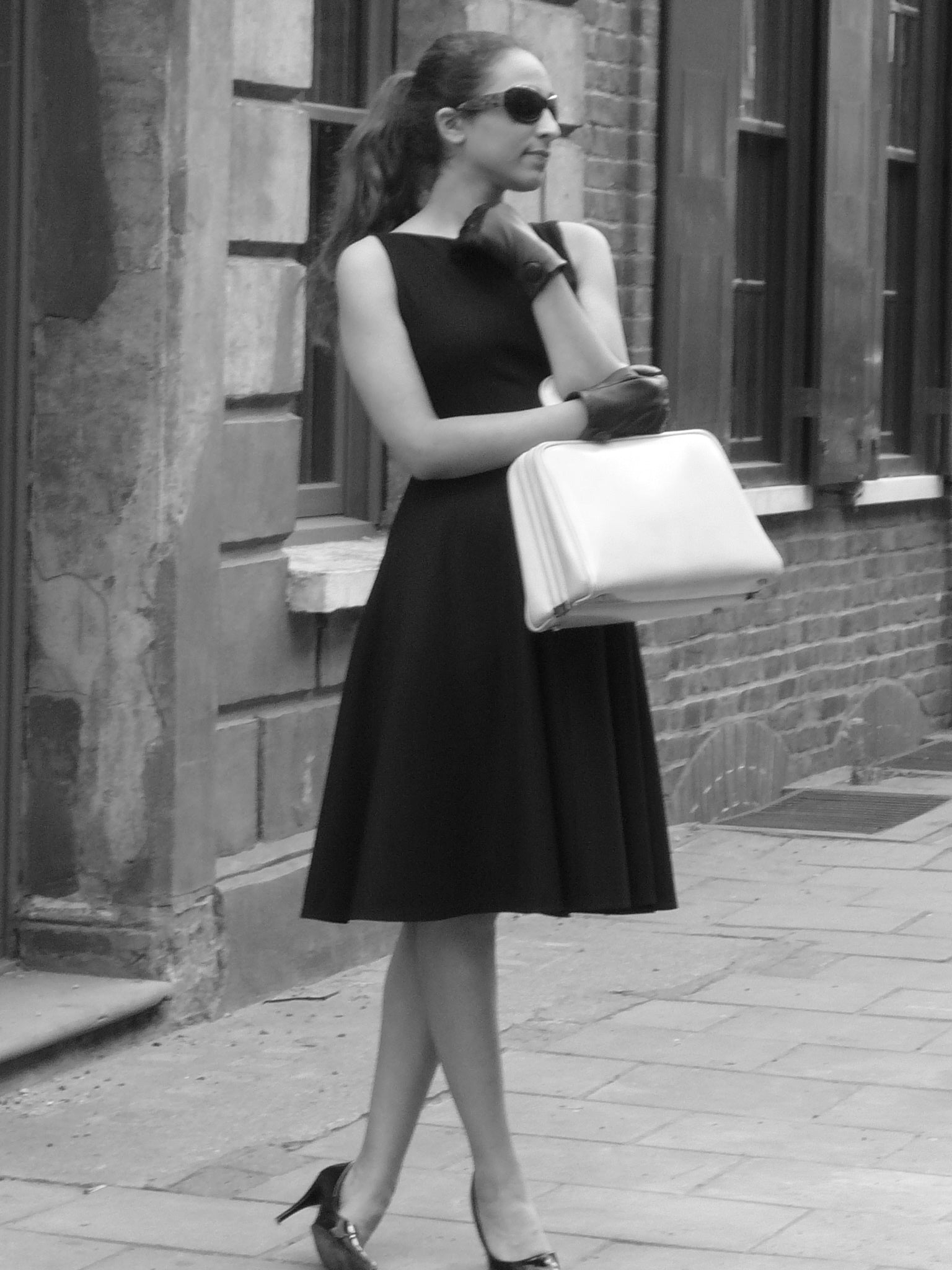 Classic Audrey -  Little Black Dress