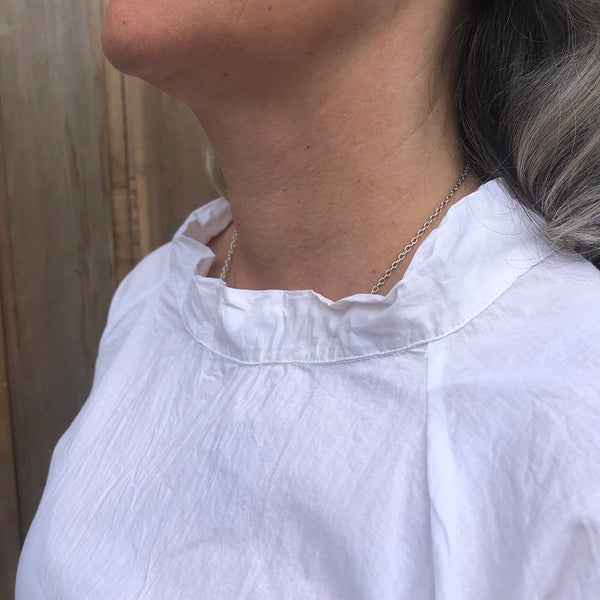 Fisher -  light cotton smock top