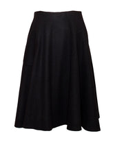 Load image into Gallery viewer, Alma - A-line wool flared skirt