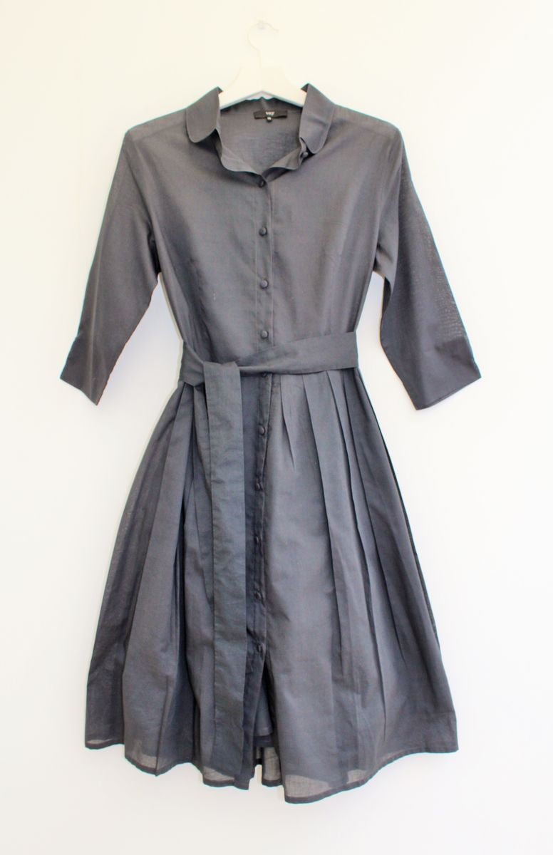 Kirsty -cotton shirt dress
