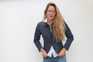 Balencia - cotton tailored jacket