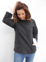 Load image into Gallery viewer, Fisher - wool smock top