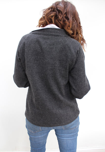 Fisher - wool jersey smock top