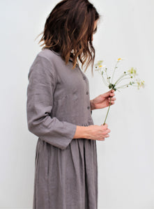 Koko -Linen shirt dress