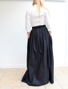 Giselle - long cotton skirt