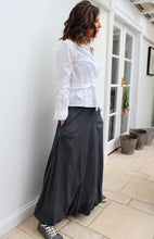 Load image into Gallery viewer, Gigi - cotton long skirt with bubble hem