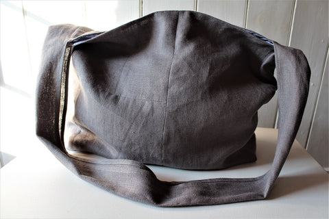 Cambridge - linen crossbody bag