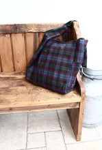 Load image into Gallery viewer, Cambridge - tartan wool crossbody bag