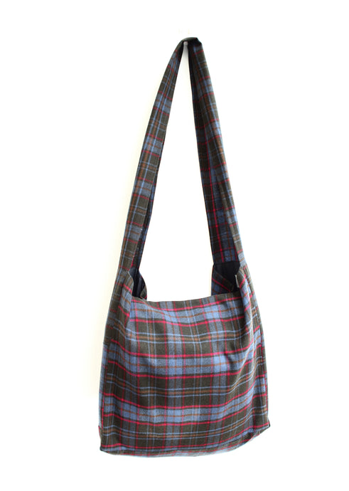 Cambridge - tartan wool crossbody bag
