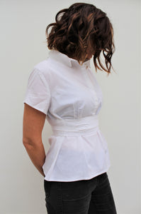 Crew - classic cotton shirt with a twist
